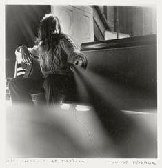 Francesca Woodman, Self-portrait at thirteen, Antella, Italy, 1972