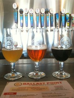 I LOVED Ballast Point Tasting Room & Kitchen in San Diego, CA! Cheap, delicious beer and a great crowd.