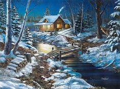 """Woodland Retreat"" by Jim Hansel"