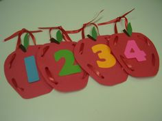 Apple Rhyming Activity. This counting activity is a fun way for children to learn each other's names.
