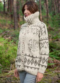 Wooling Issue 2 - #19 Fair isle jacket  Patterns