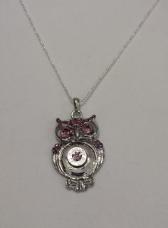 Vintage amethyst owl bullet necklace Check out this item in my Etsy shop https://www.etsy.com/listing/248510971/bullet-necklacebullet-casing-necklaceowl