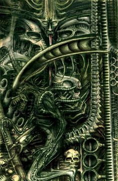 He was the greatest. Hr Giger Alien, Hr Giger Art, Xenomorph, Chur, Hr Giger Necronomicon, Evil Art, Alien Art, Science Fiction, Weird Art