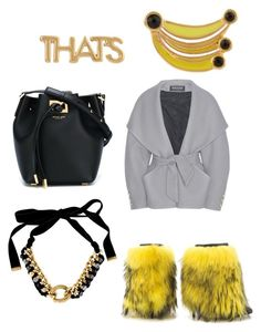 """""""Untitled #95"""" by najia17-2007 on Polyvore featuring Kate Spade, Lust For Life, Balmain, Michael Kors and Yves Saint Laurent"""