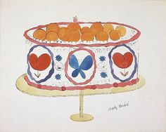 Andy Warhol cake! ARTS : More Pins Like This At FOSTERGINGER @ Pinterest