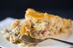 Italian Easter Pie - an Italian-Catholic recipe traditionally made the day before Easter and served at noon to signify the end of Lent and to break the fast. Nothing says breaking a fast like pie crust and the biggest collection of Italian meats and cheeses I've ever seen in one recipe!