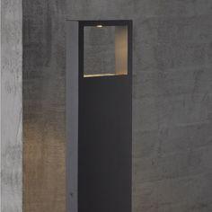 Avon pullert, Høyde: 45 cm, 3W LED, 80 lumen, Sort