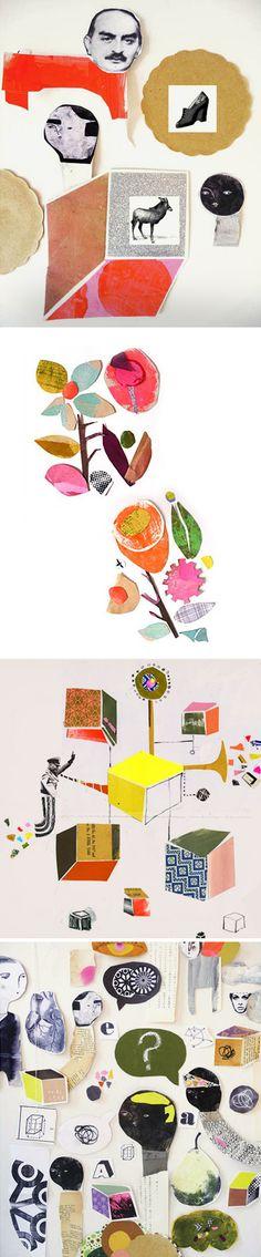 ⌼ Artistic Assemblages ⌼ Mixed Media, Journal, Shadow Box, Small Sculpture Collage Art - Andrea D'Aquino