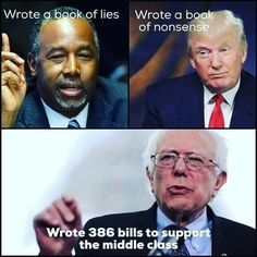 BERNIE SANDERS is the only candidate from either party 100% dedicated to the middle-class working people of this country !