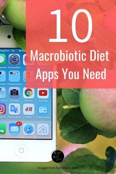 Lose weight and keep it off! The macrobiotic apps you need to make macro dieting easy. Macro App, Macronutrient Ratio, Macrobiotic Diet, Food Tracking, Macros Diet, Health And Fitness Apps, Diet Apps, Food Log, Lose Weight