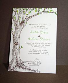 The Giving Tree invitation