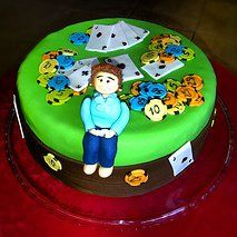 Cake Boutique | poker cake