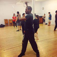 "New York Jedi on Instagram: ""@johnbladev1 at our #lightsaber #practice on Thursday #jedi #sith #starwars #stagecombat"""