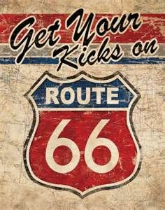 Route 66 Paintings -