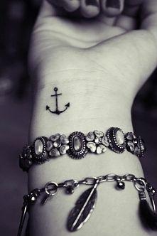 tatuaż kotwica na nadgarstku - Szukaj w Google
