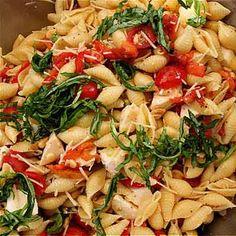 Sencilla ensalada de pasta