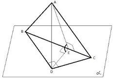 Matematică - rezolvări detaliate: Problema - teorema celor 3 perpendiculare Utility Pole, Line Chart, Geometry