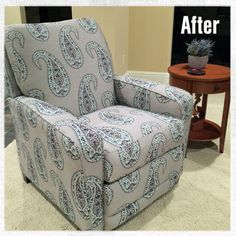 You don't have to sacrifice comfort for style. Reupholster your La-Z-Boy recliner in a modern, new upholstery fabric.