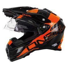 Oneal 2016 Sierra Dual Sport Edge Black/Orange Helmet - M