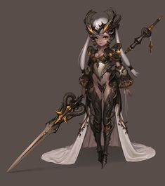 dragon knight, 현구 이 on ArtStation at https://www.artstation.com/artwork/WJaQG