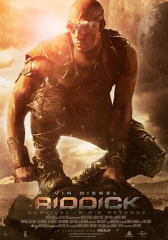 Cool New Poster for Vin Diesel's RIDDICK — GeekTyrant