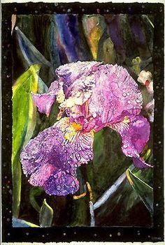 "Joseph Raffael, ""Iris"""