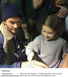 David Beckham is a doting dad in NYC with his kids | Daily Mail Online