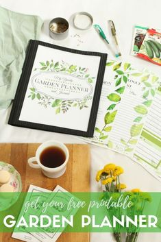 Do you want to start a garden but feel really overwhelmed? Download this free printable garden planner and organize your thoughts. Print only the pages you need. Checklists, budget trackers, journal pages, garden maps, and more! Whether you have a backyard vegetable garden, a flower bed to landscape, or a little container garden on your deck, there's something to keep your garden organized.