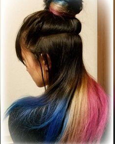 WEBSTA @ asuka0218c - カラー追加( ´∀` )bマニパニのクレオローズ#マニパニ#manicpanic #ヘアカラー #派手髪
