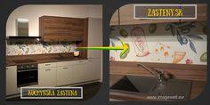 kuchynska zastena, foto tlac do kuchyne