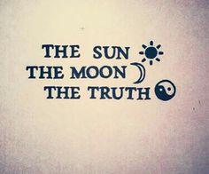 Sun, moon, truth