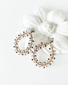 Magnolia Jewelry, Jewelry Box, Jewellery, Swarovski Crystals, Glass Beads, Outfit Shop, Rose Gold, Brooch, Turquoise