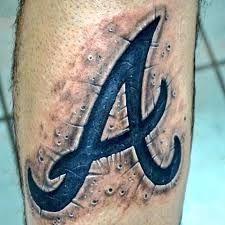 Atlanta Braves Tattoo Google Search Atlanta Braves Tattoo Be Brave Tattoo Atlanta Braves