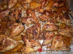 Cookpad - Make everyday cooking fun! Smoked Wings, Smoked Chicken Wings, Spicy Korean Chicken, Food Network Recipes, Cooking Recipes, The Kitchen Food Network, Chicken Gyros, Yum Yum Chicken, Sweet And Spicy
