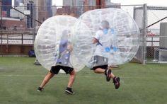 U kunt kiezen voor de bubblefootballshop.nl TPU of PVC materiaal. Wij bieden u een beperkte tijd bij dezelfde prijs de beste kwaliteit.
