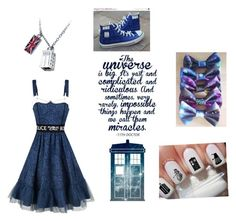 """""""Whovian Style"""" by alyrose04 ❤ liked on Polyvore"""