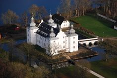 Engelsholm Slot in Denmark near Billund. Originally a manor house which traces its history back to the 15th century,