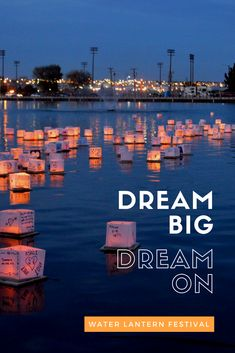 Write your dreams down and make a wish as you send your lantern drifting into the water at the Water Lantern Festival. Sit back and relax as the lanterns reflect of the water. Tickets on sale today!