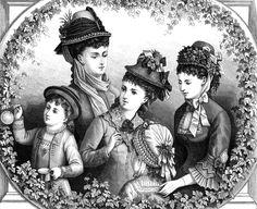 Public-Domain Vintage Woman | Ladies' Fashion Hats