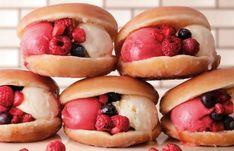 """クリスピー・クリーム・ドーナツ(KKD)から、ジェラートを使った初の""""アイスサンドイッチ""""「クール クリスピー サンド」が誕生。"""
