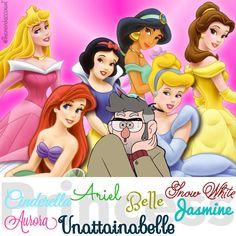 #PrincessUnattainabelle #BestDisneyPrincessEver