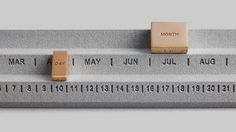 3D-printed homeware brand Othr has added to its rapidly growing range with an analogue calendar designed to counter the prevalence of digital schedules.