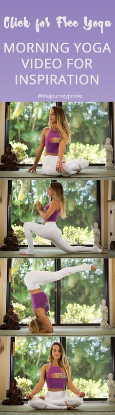 Morning Yoga Practice: Get Inspired for Your Day Ahead - Pin now, step on your yoga mat now, get inspired for your day now!