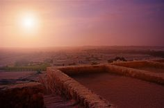 The view from Riffa Fort - Bahrain
