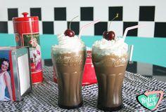 .Estilo Retrô Rock. www.retrorock.com.br #50s #retro #diner #americandiner #milkshake
