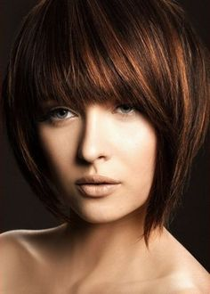 Bob Hairstyles With Bangs | Beautiful