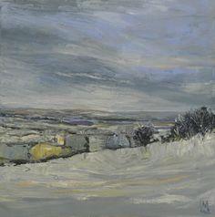 Snow. Oil on canvas Colin Merrin 2014