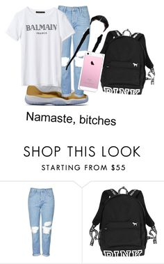 """Teens ONLY"" by lordgirlky ❤ liked on Polyvore featuring Topshop"