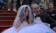 O que você faria se visse um homem de 65 anos casado recém-casado com uma menina de apenas 12 anos? Veja a reação das pessoas neste experimento!