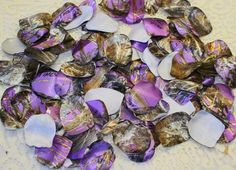 Beautiful Purple Camo Petals Purple Camouflage Petals Satin By IDoDoodads, $10.95